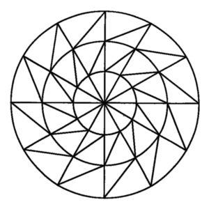 Risultati Immagini Per Mandala Da Colorare Facili Mandala