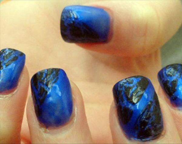 halloween with purple green and gold | Nail art designs ...