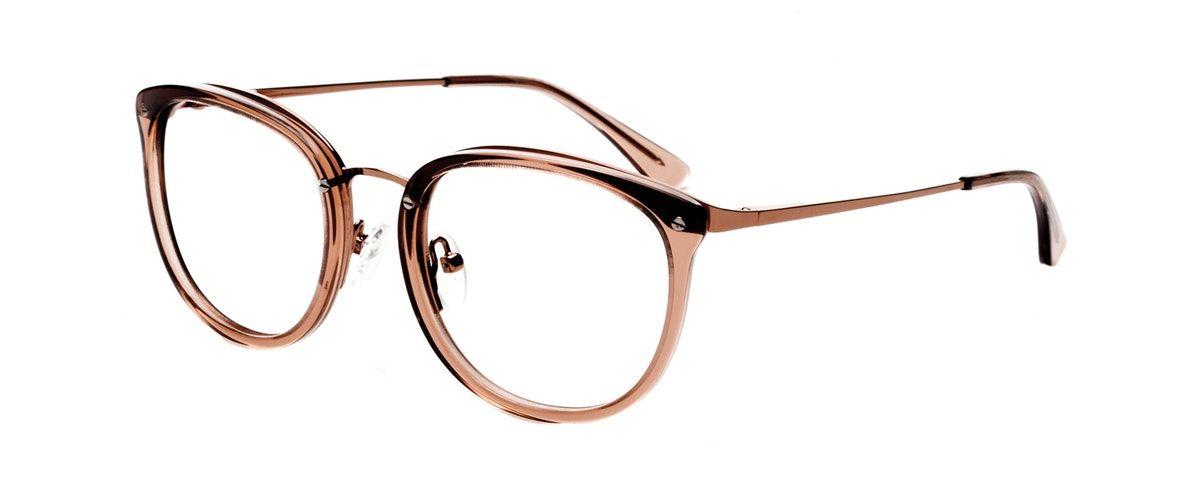 56f7c80698 Affordable Fashion Glasses Square Round Eyeglasses Women Amaze Rose Tilt