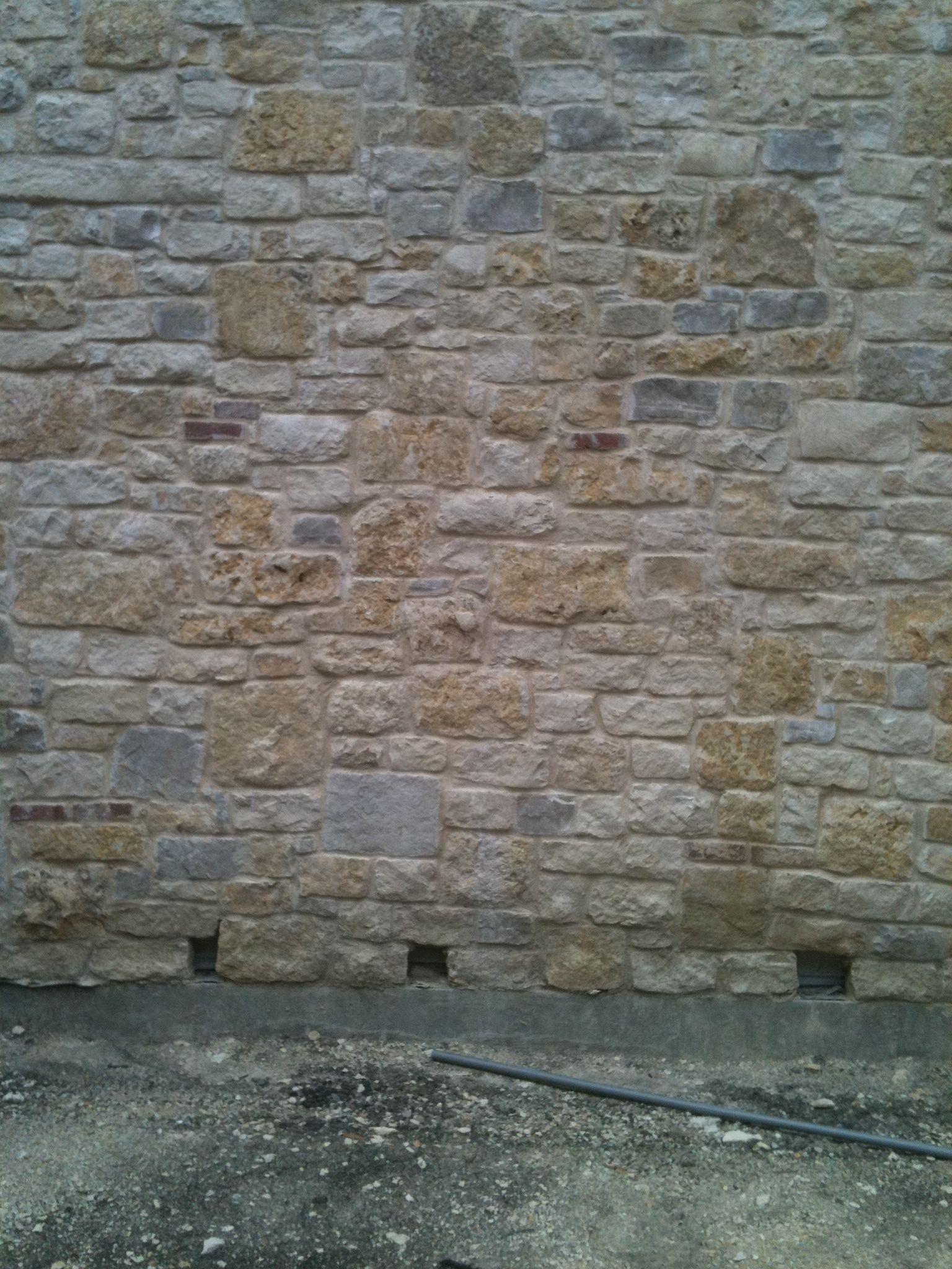 granbury custom blend natural limestone full size or thin veneer metro brick  u0026 stone dallas