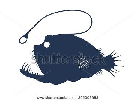 Image Result For Angler Fish Silhouette 20000 Leagues Under The