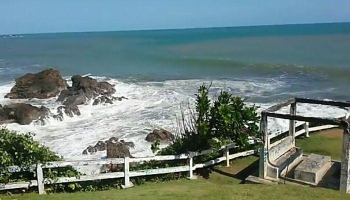 wisata pantai karang tawulan tasikmalaya jawa barat wisata dan