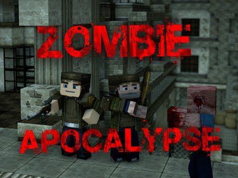 Zombie Apocalypse Minecraft Adventure Map Adventure Map Apocalypse Zombie Apocalypse