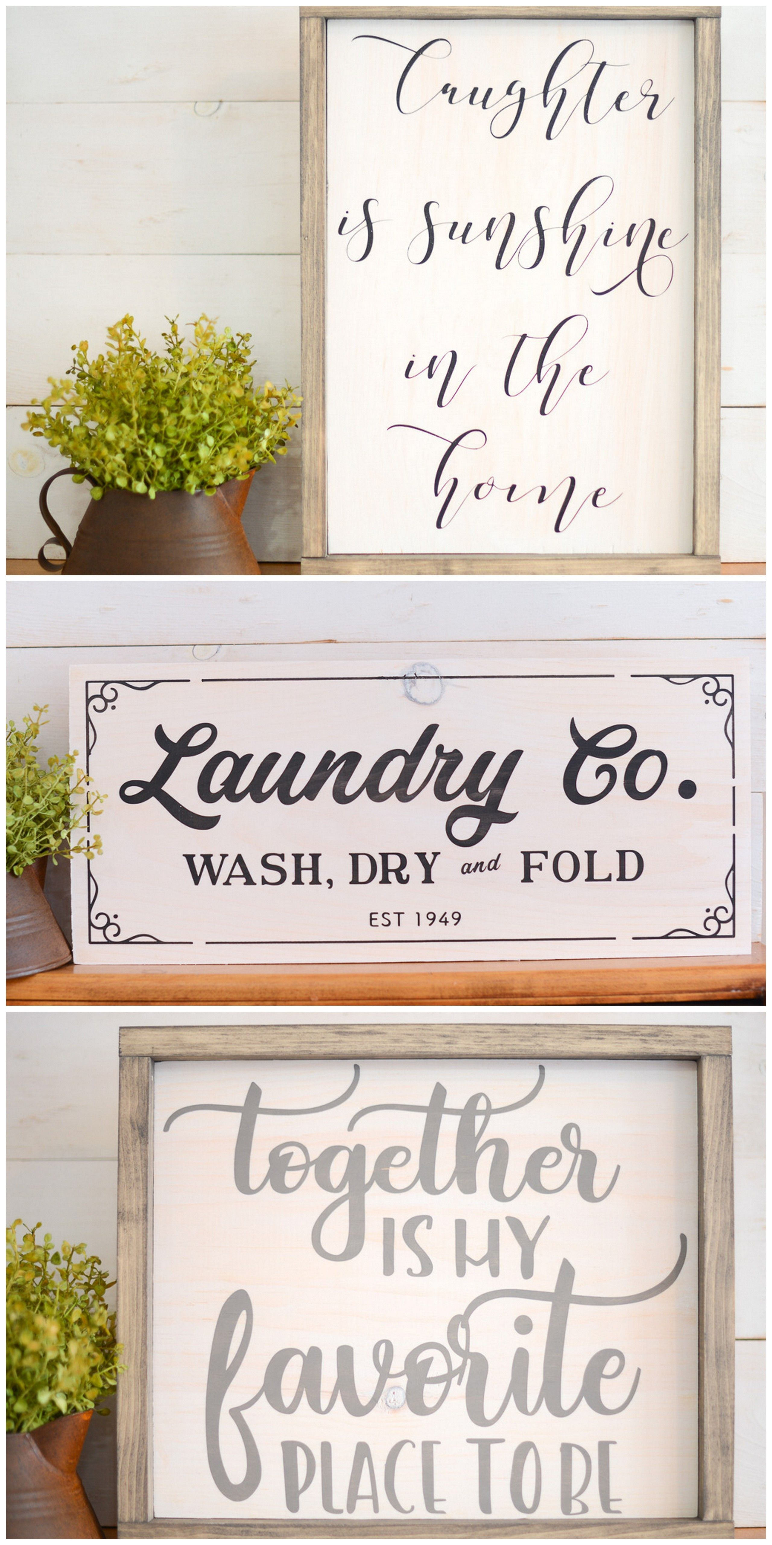 Farmhouse Wood Signs Favorite Signs Shop Wood Signs Diy Wood