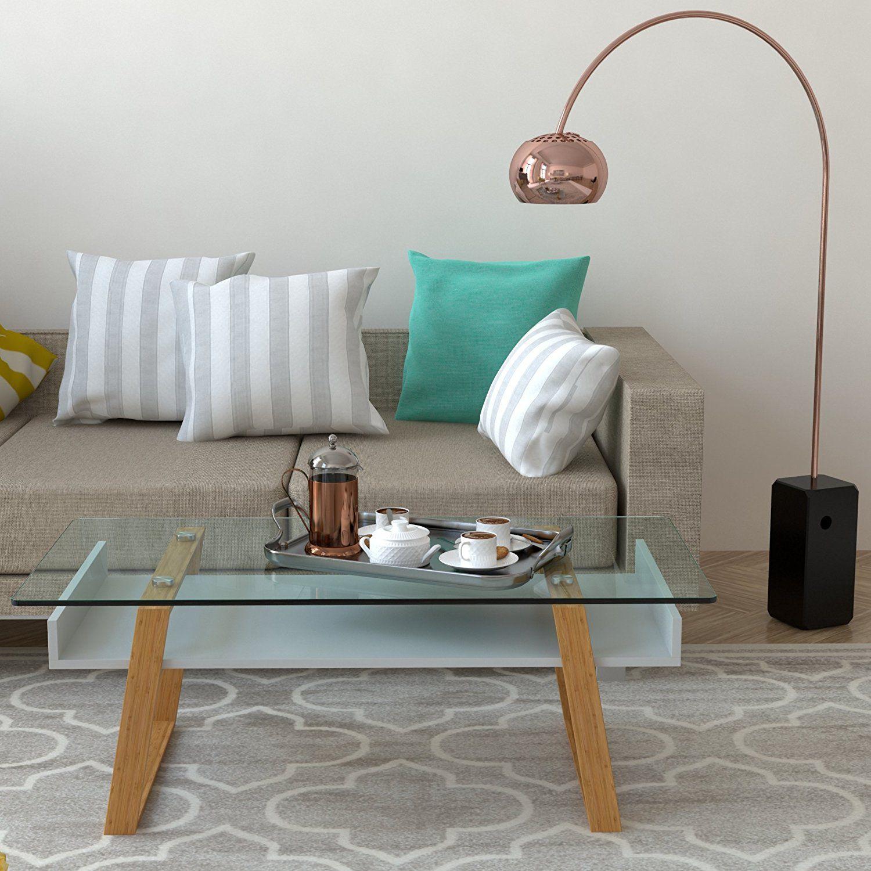 bonVIVO® Designer-Couchtisch Donatella, Moderner Wohnzimmertisch und ...