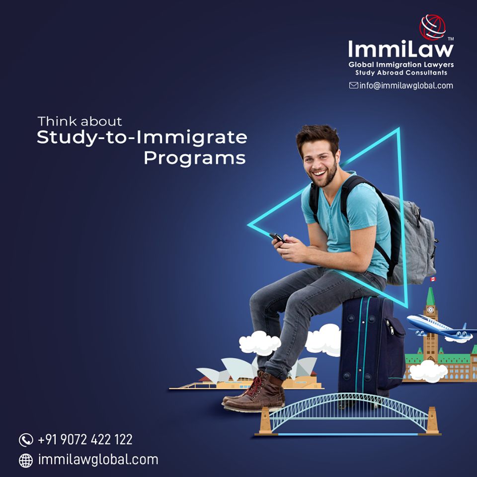 Study To Immigrate Programs Are The Best Option For Students Aspiring For Overseas Educ In 2020 Educational Consultant Social Media Design Social Media Campaign Design