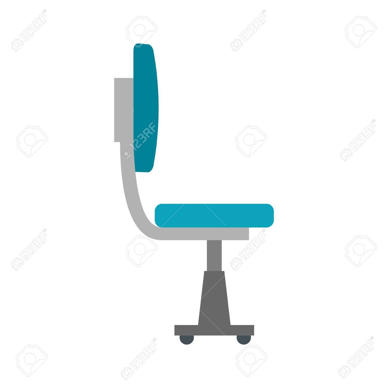 Office Chair Equipment Isolated Icon Vector Illustration Design Illustration Spon Equipment Vector Illustration Design Visual Design Illustration Design