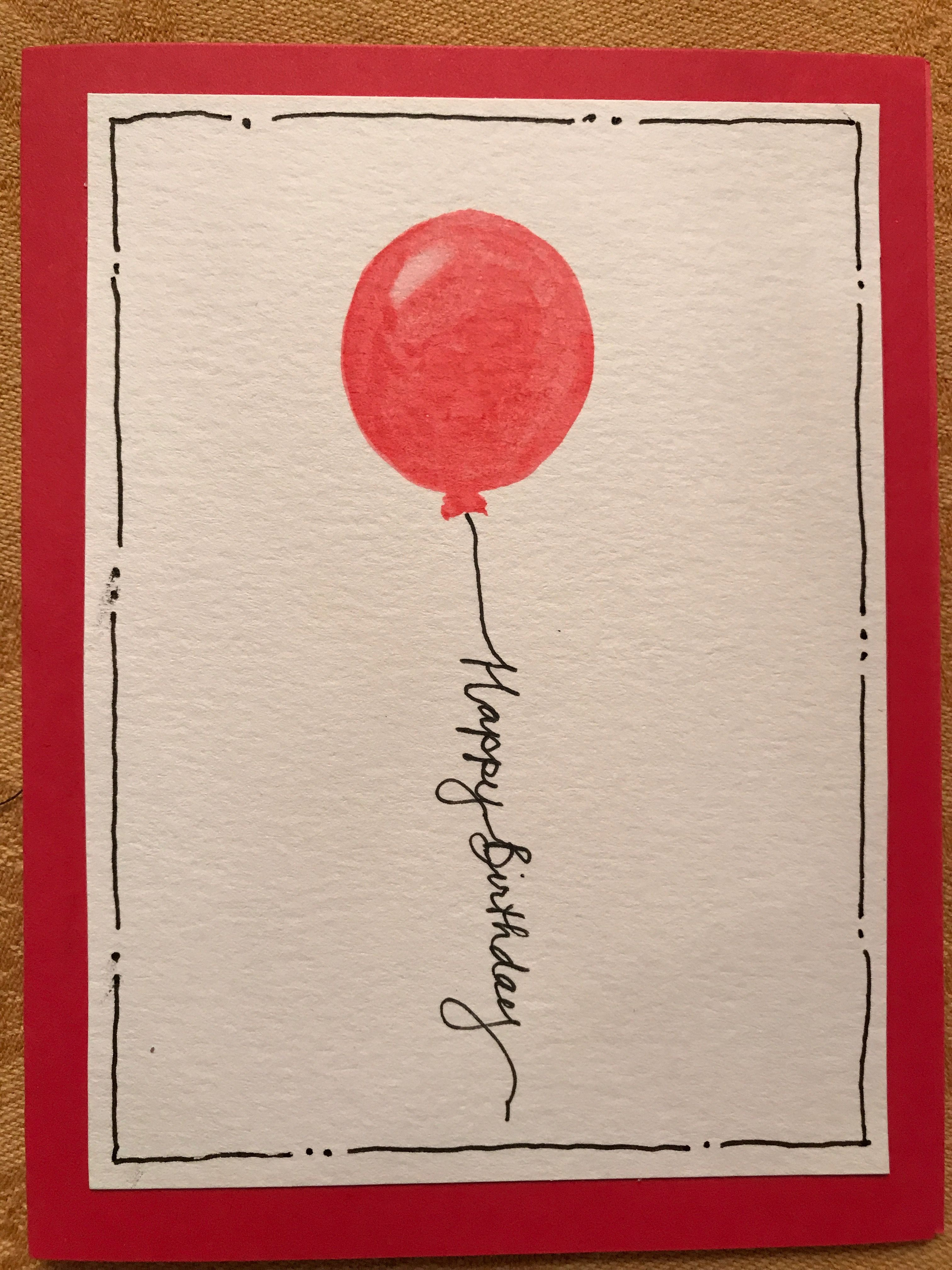 Birthday Doodle, Birthday Cards, Brush Lettering, Christmas Greetings, Diy Cards,