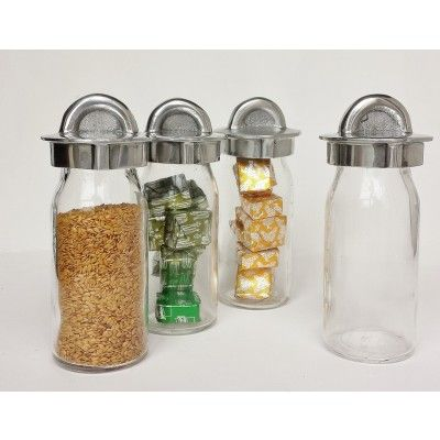 These are the best herb spice and nut storage