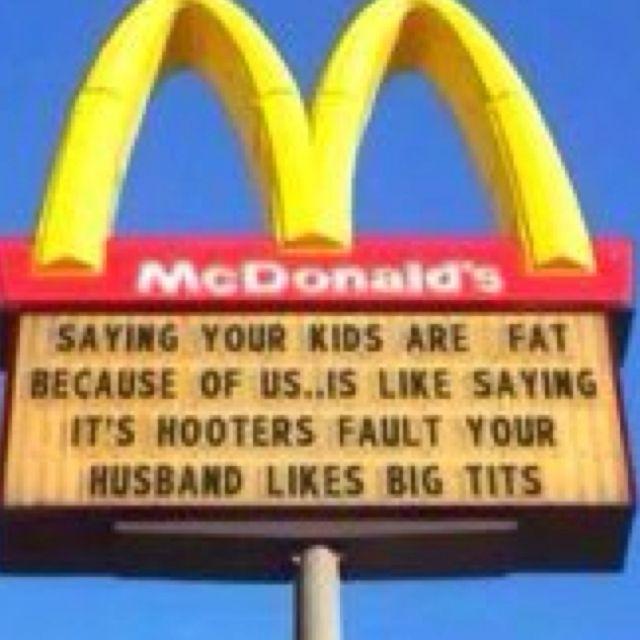 Mcdonalds fat big tits hooters