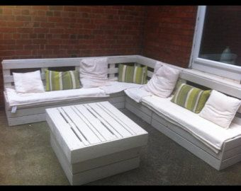 garden furniture seating area made from by palletfurnitureuk 30 creative pallet furniture diy - How To Make Garden Furniture Out Of Pallets