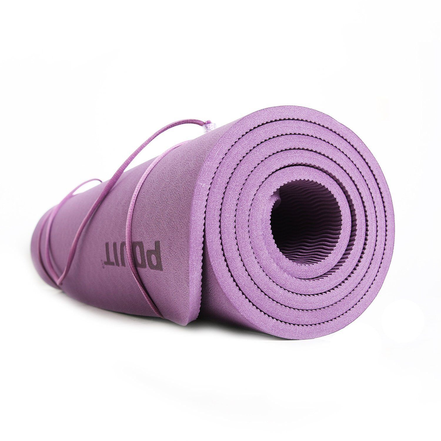 Aiker Yoga Mat Premium Quality Non Slip Exercise Mat 8mm Thick 72 X 24 Inches Perfect For Yoga Pilates Situps Stretch Mat Exercises Floor Workouts Yoga Mat