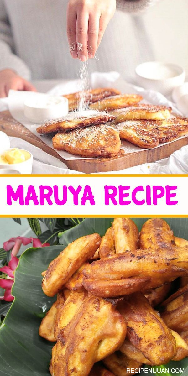 Photo of Maruya Recipe (Banana Fritter) – Recipe Ni Juan