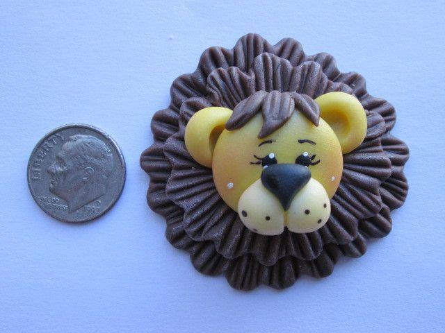 Needle Minder - Leo Lion (Clay)