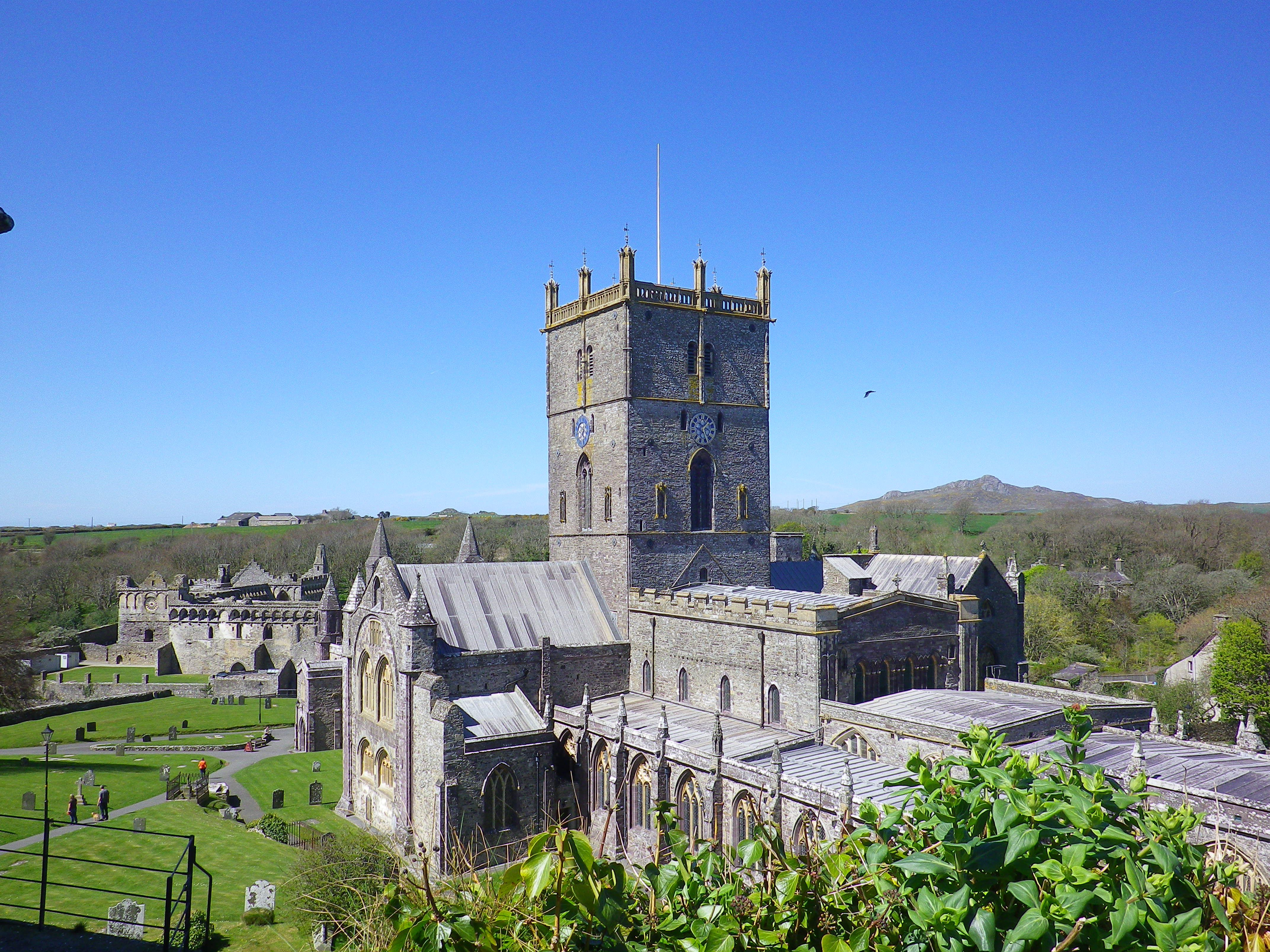the beautiful and tranquil St David's cathedral