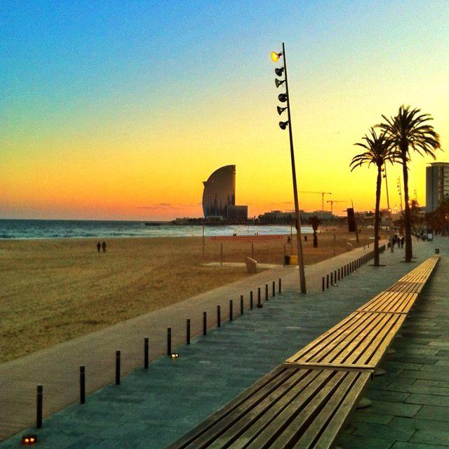 Barcelona Beach, Trip, Barcelona
