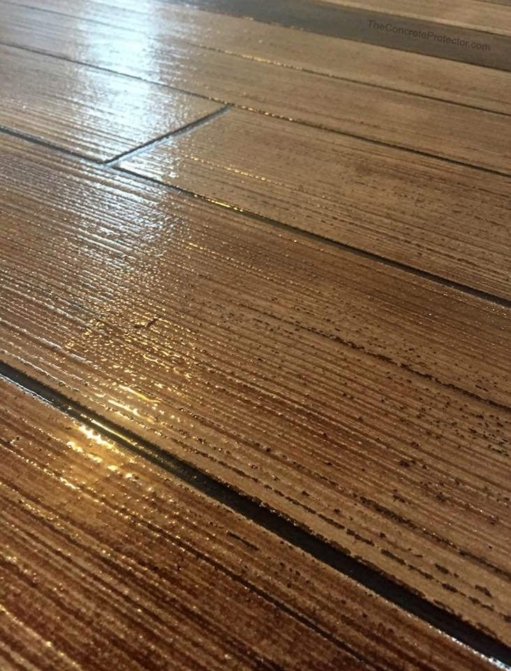 Rustic Concrete Wood Alpha Omega Coatings Marietta Ga Bat Floors