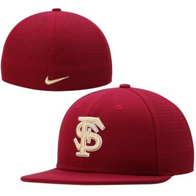 competitive price 5d3f1 27983 ... netherlands florida state seminoles nike dri fit vapor true college  authentic baseball fitted hat garnet 01da3