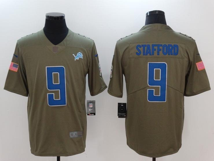 Men 09 Matthew Stafford Jersey Football Detroit Lions Jersey