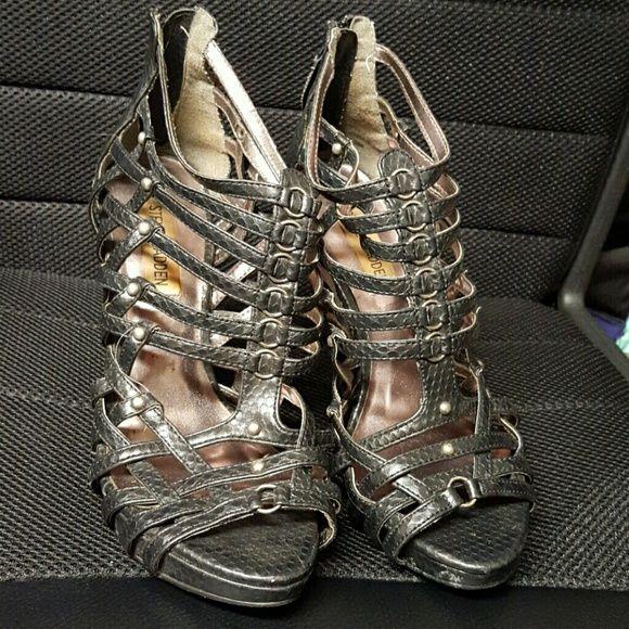 Steve Madden sandals Greyish/black Steve Madden sandals Steve Madden Shoes Sandals