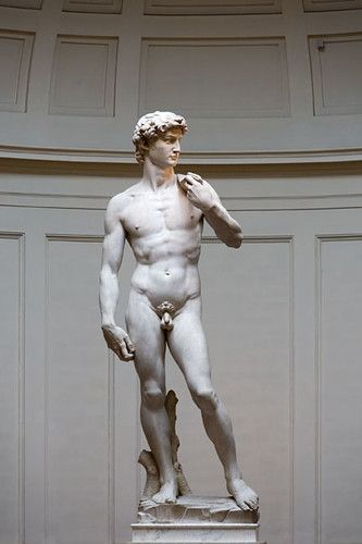Michelangelo David #greekstatue