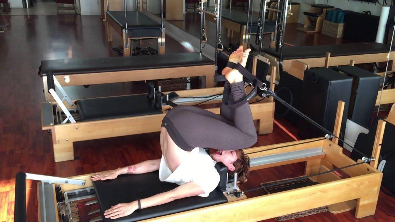 Short Spine on the Reformer -Lesley Logan Pilates