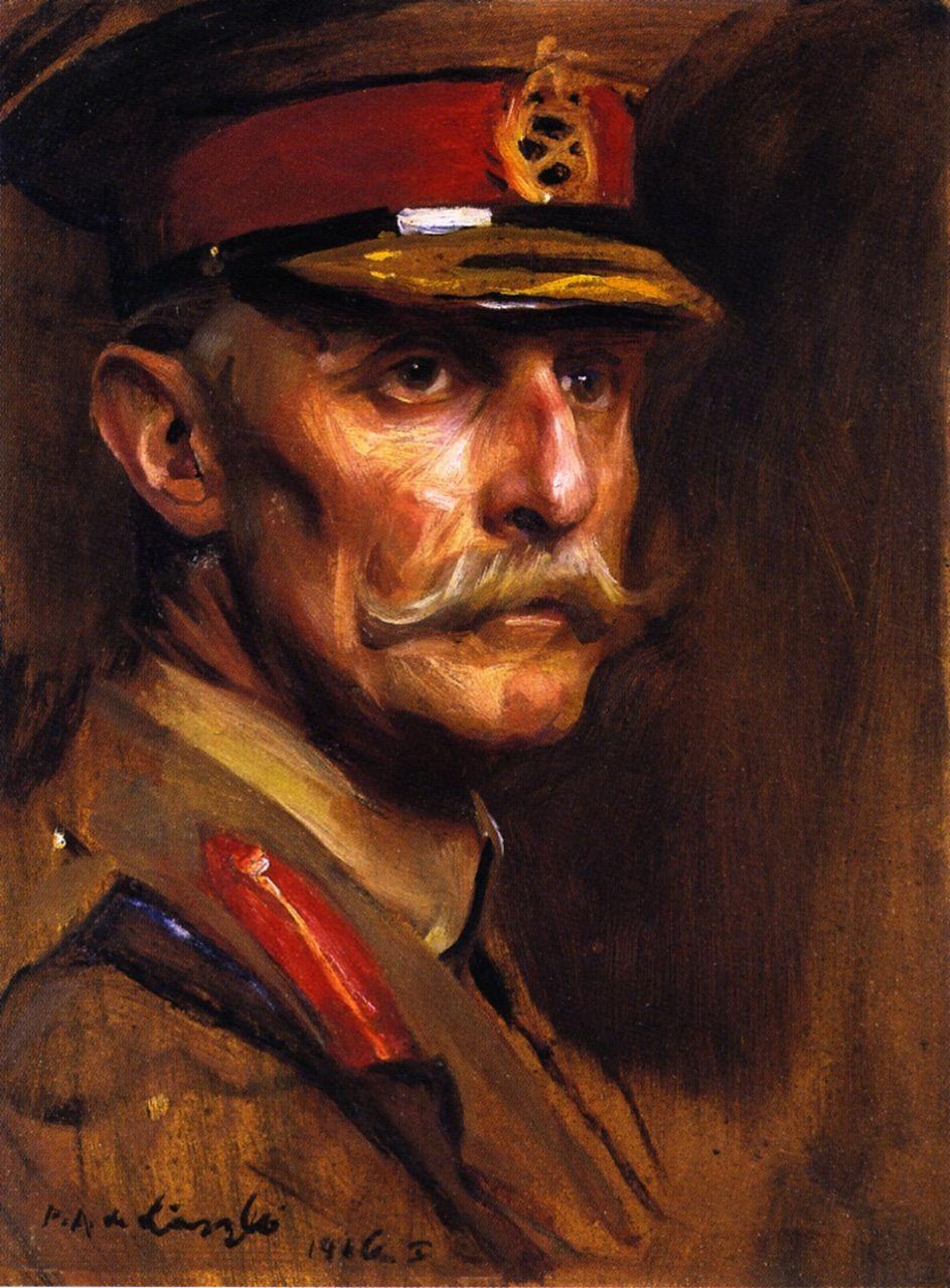 Brigadier-General the Earl of Albemarle (Philip Alexius de László - 1916)