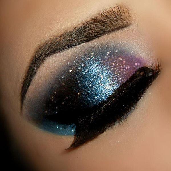 Galaxy Kelsey R S Photo Beautylish Galaxy Makeup Eye Makeup Makeup