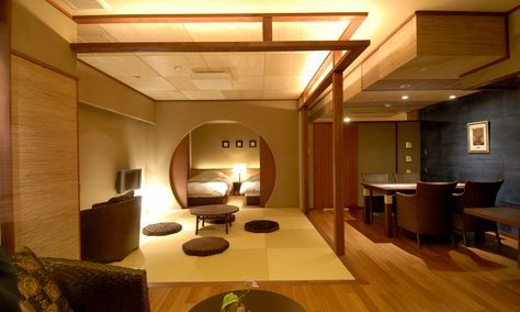 Hotel room renovated by ishii architectural office for Architettura giapponese tradizionale
