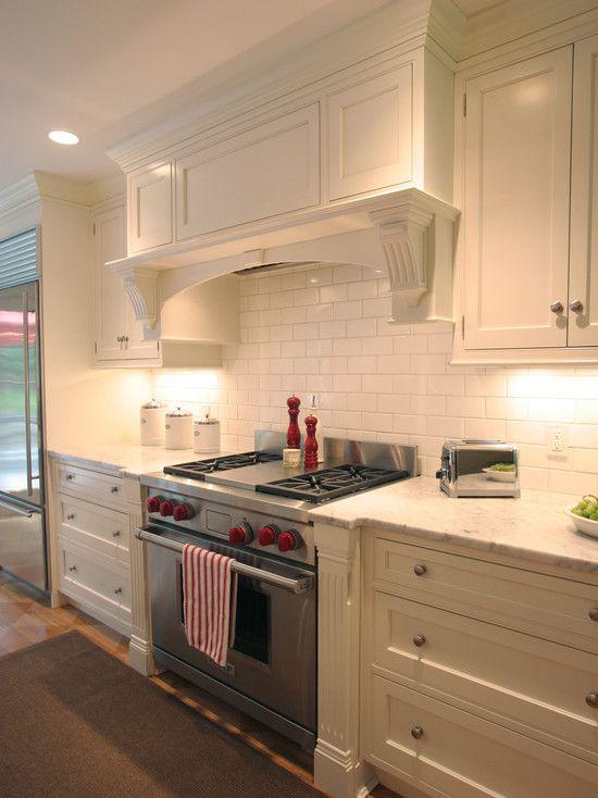 Kitchen Hoods And Vents Design, uses a custom hood liner | kitchens ...