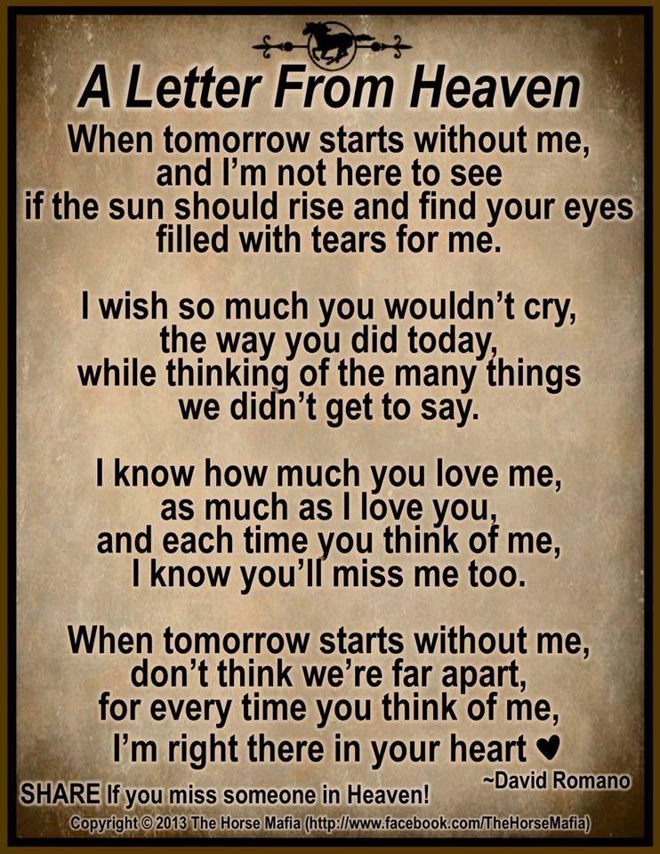 A Letter From Heaven Jackie Godbold Godbold Glazer Jamie