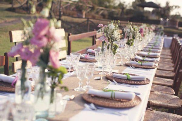 Tavolo Matrimonio Country Chic : Un matrimonio country chic martina e gabriele maybe one day
