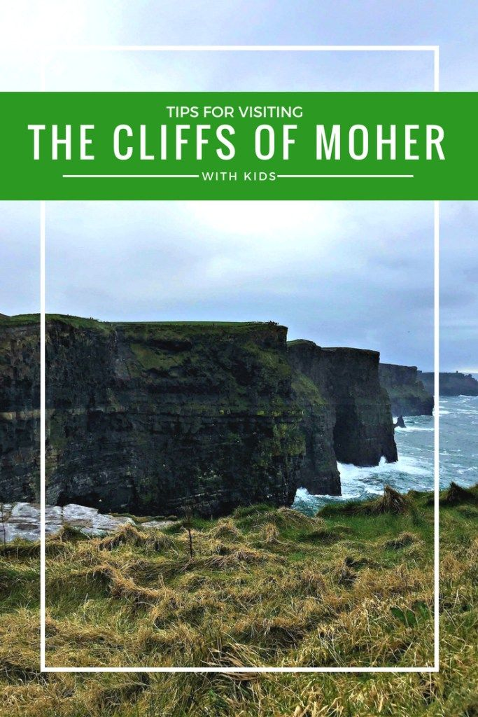 Tips for visiting the cliffs of Moher with kids