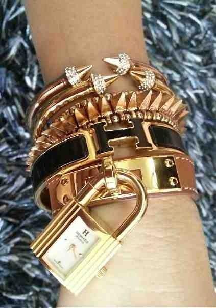 Hermès fab bracelets--LUXURY!