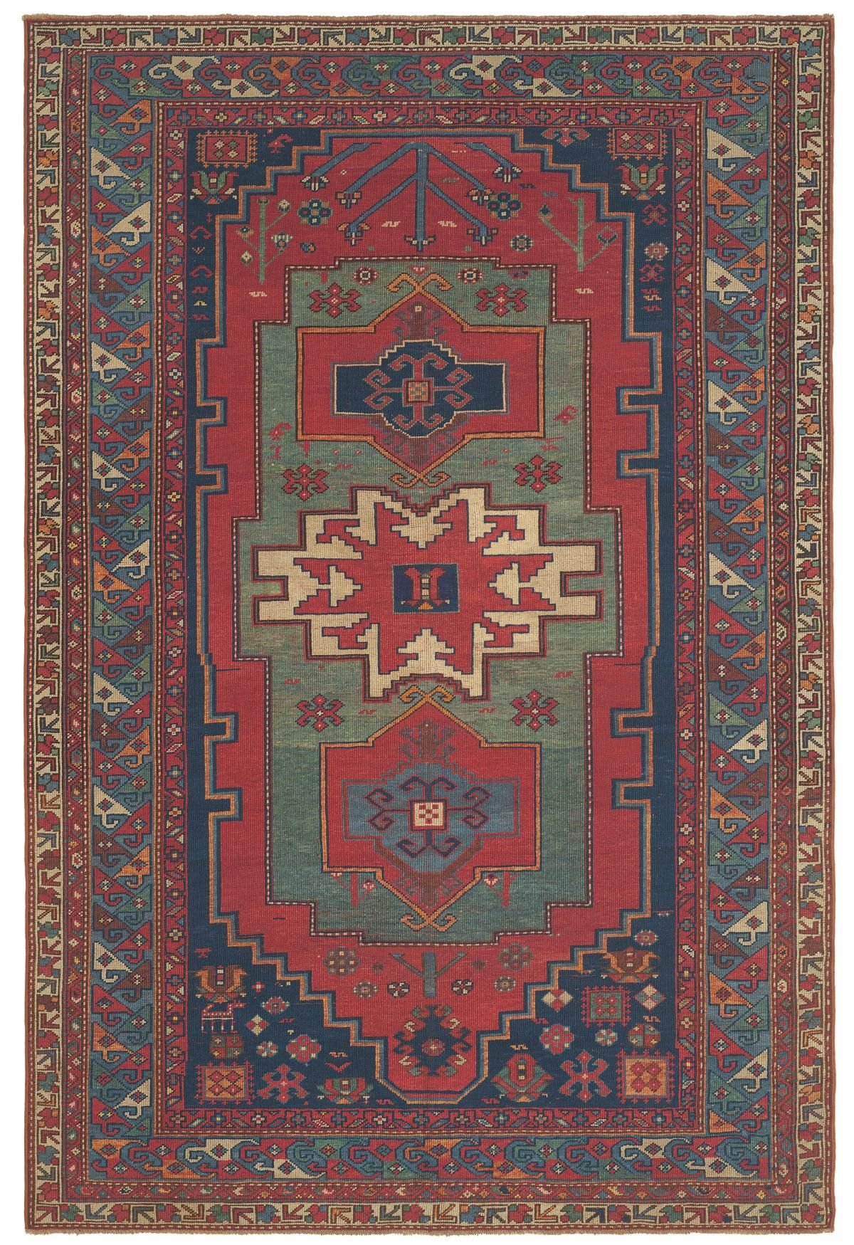 Caucasian Fachralo Kazak This Deeply One Of A Kind Piece Is A Quintessential Tribal Rug Exhibiting All The Antique Oriental Rugs Caucasian Rug Tribal Carpets