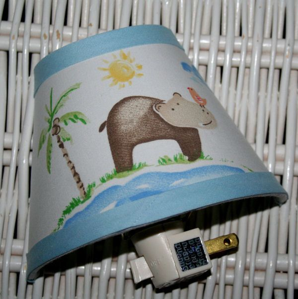 Nightlight For New Baby S Nursery With Images Pottery