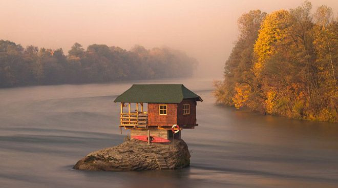 House on the water, Serbia