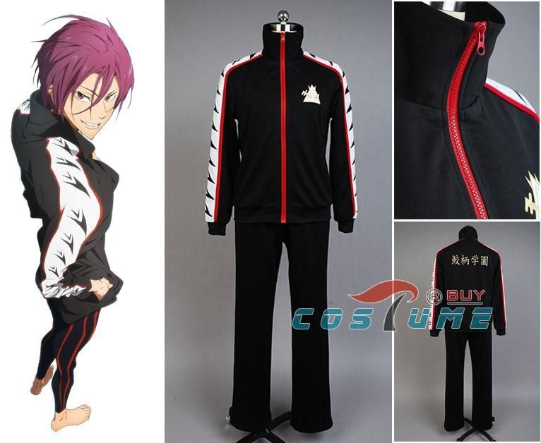Free Iwatobi Swim Club Rin Matsuoka Uniform Cosplay Costume Outfit Jacket Suit Mi Tiles Com Hope it can help some of you ^_^ also please take note that at the end, i did cut the video and audio after it. mi sanitary store