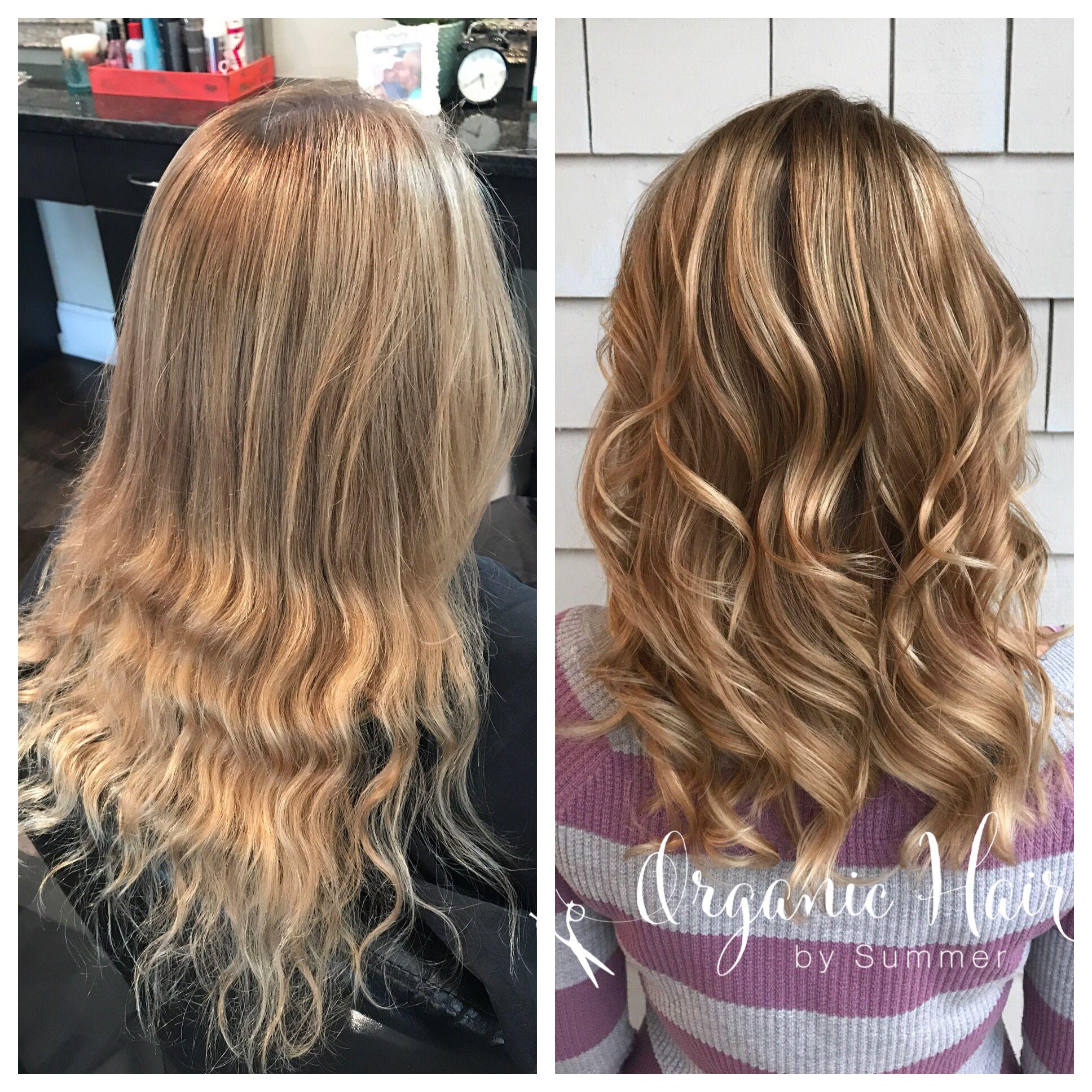 Hair Painting Balayage Foilage Faux Balayage Caramel Hair