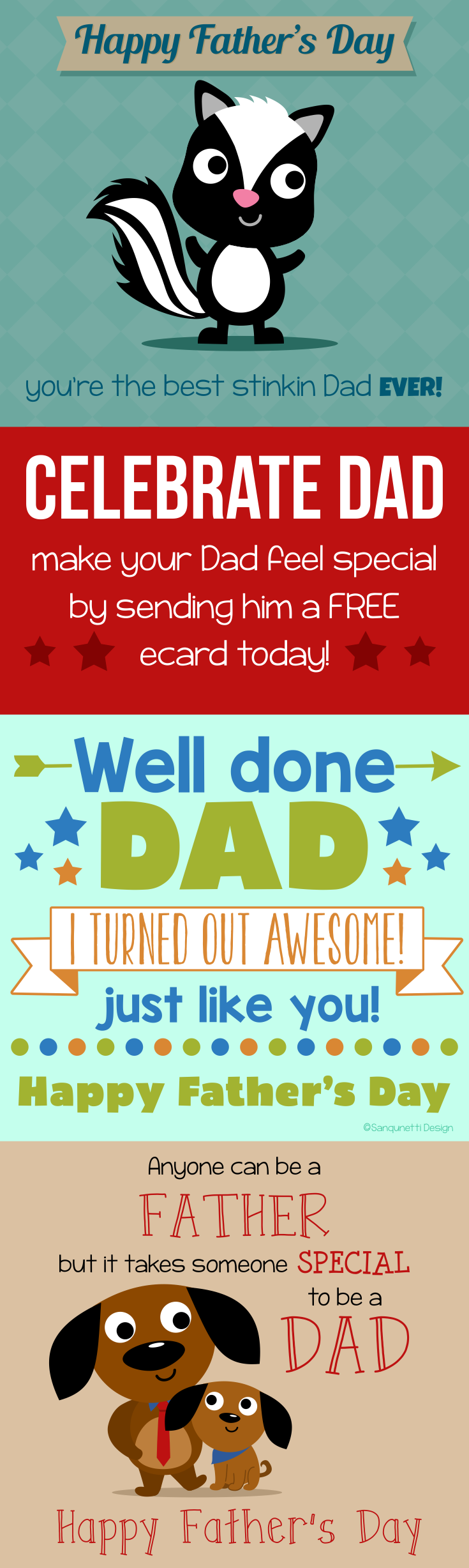 Celebrate dad this fathers day by sending him a free ecard greeting celebrate dad this fathers day by sending him a free ecard greeting card kristyandbryce Images