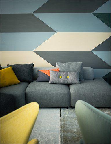 Wallpaper - Republic of Fritz Hansen Store, Milan