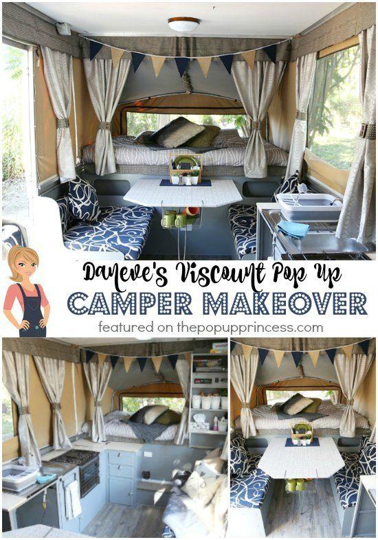 Daneve S Pop Up Camper Makeover Popup Camper Remodel Remodeled
