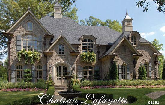 Garrell Associates Inc Chateau Lafayette House Plan 02191