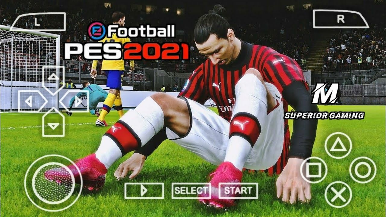 PES 2021 PPSSPP Download Mediafire Terbaru Android Offline