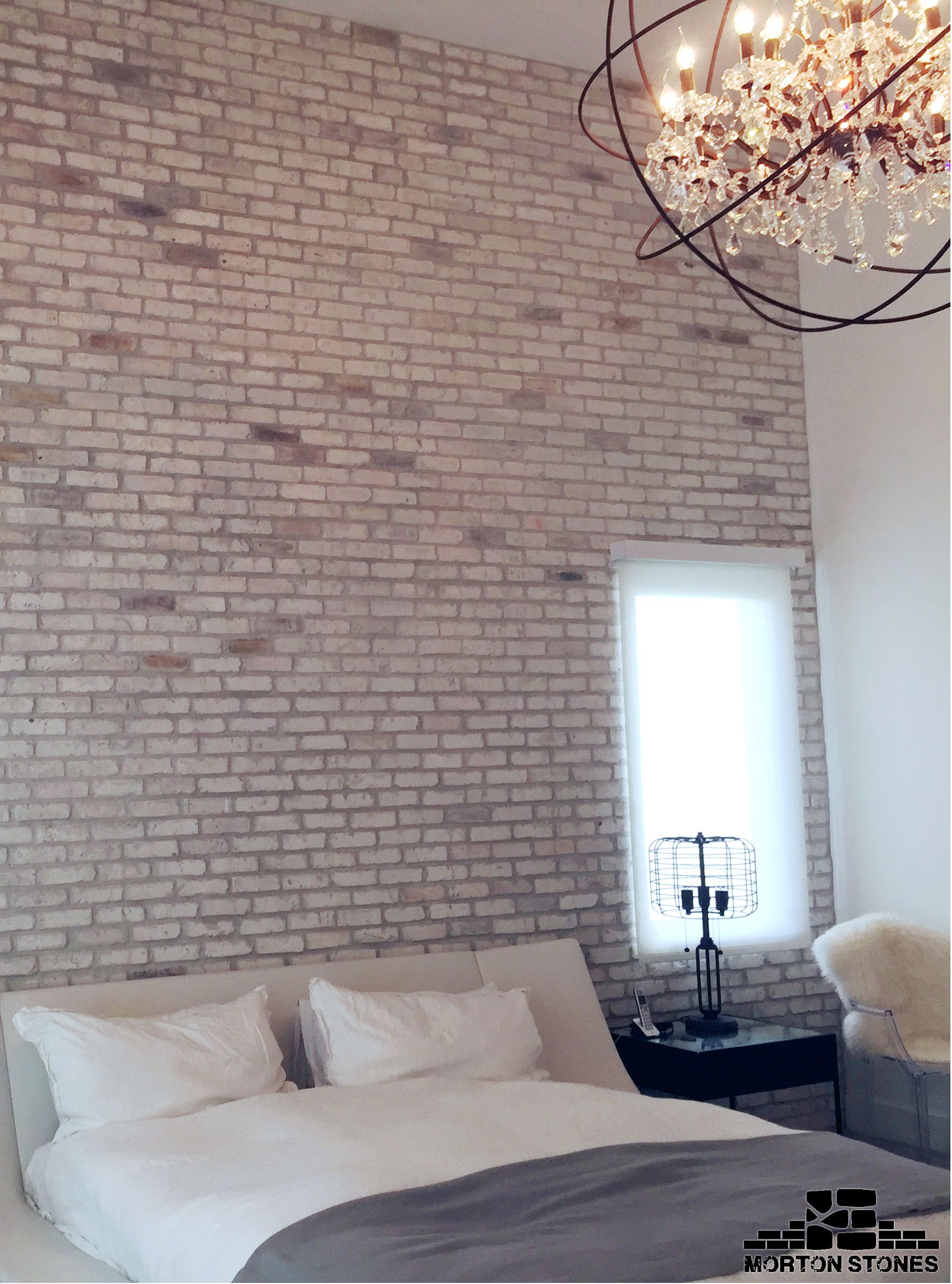 A warm and cozy bedroom design idea mortonstones brick tiles