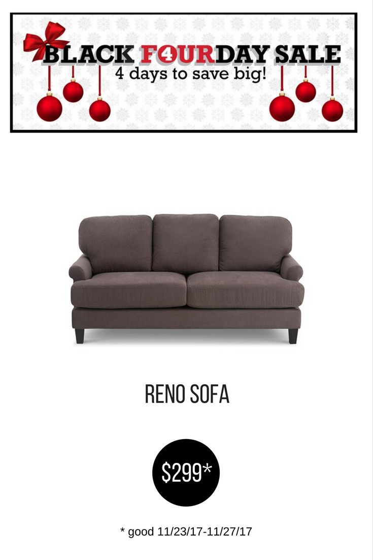 Outstanding Reno Sofa Black Friday 2017 Sofa Couch Grey Fabric Onthecornerstone Fun Painted Chair Ideas Images Onthecornerstoneorg