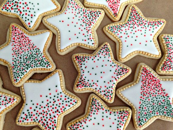 Gluten Free Star Cookies by WaiveTheWheat on Etsy