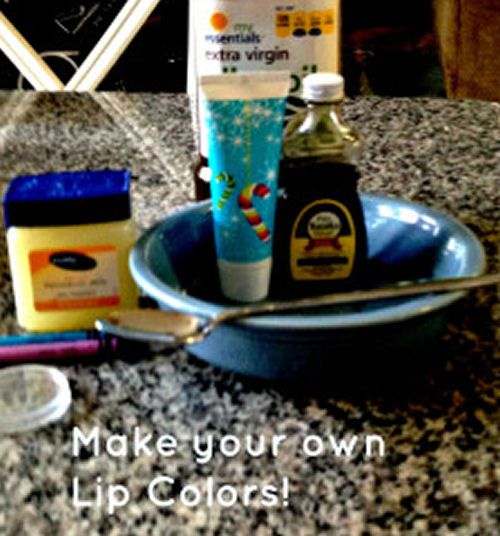 Make Your Own Lip Color - My Honeys Place