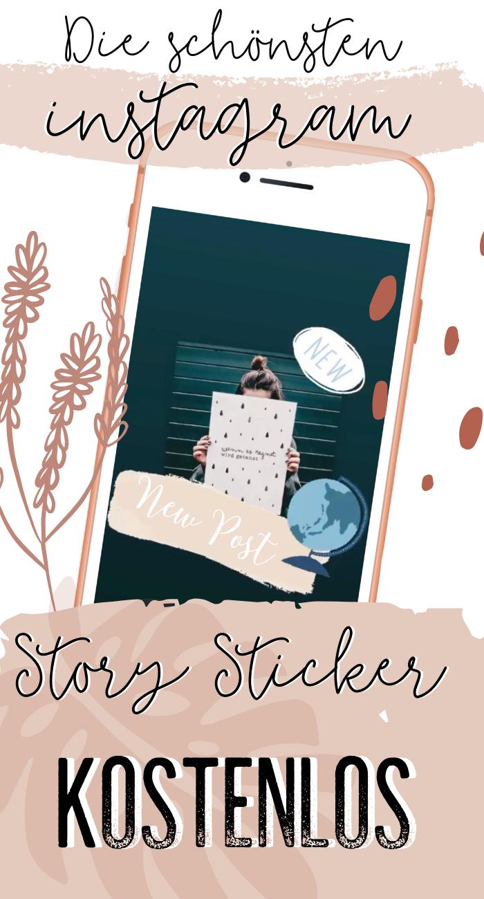 Die schönsten kostenlosen Instagram Story Sticker – Story schöner gestalten