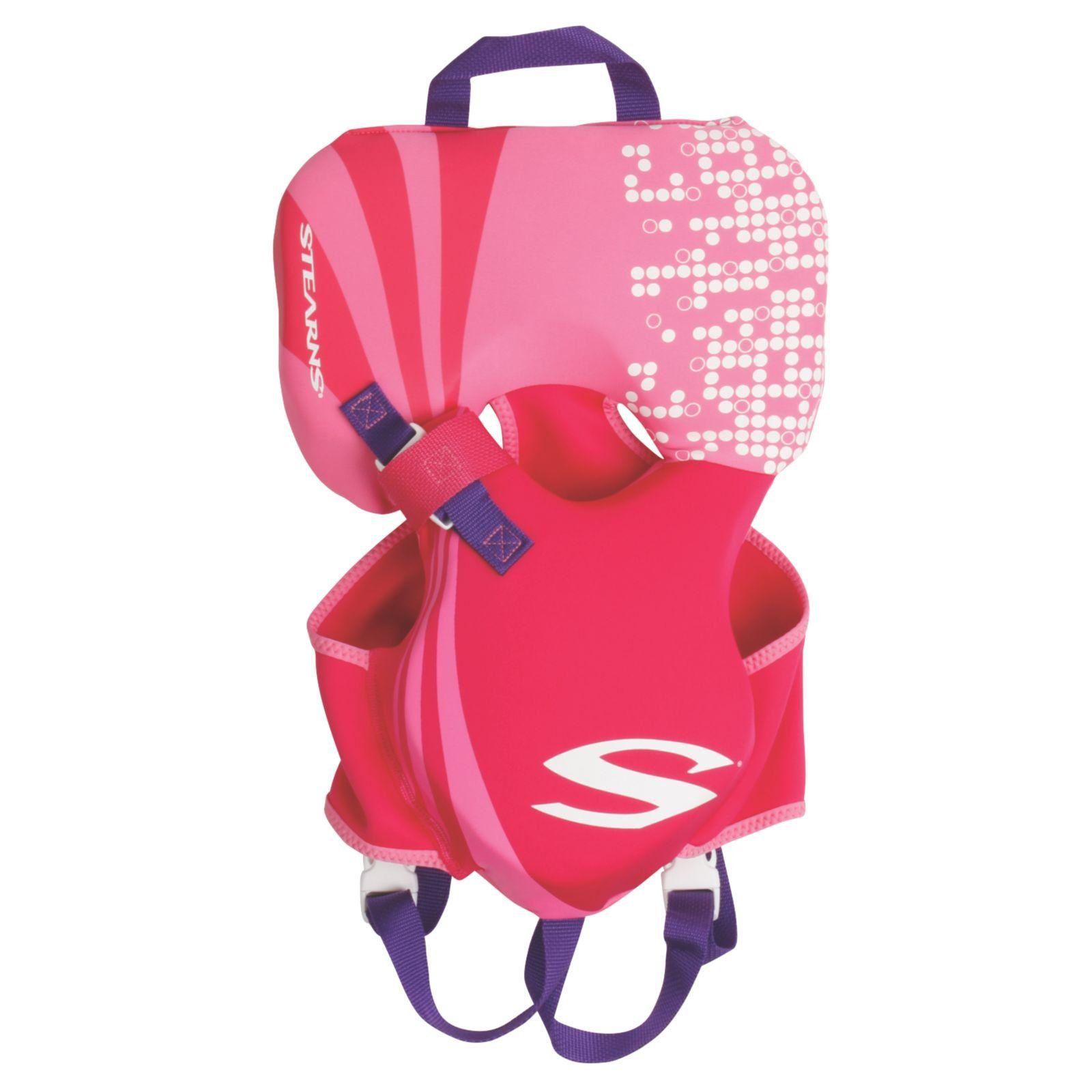 Stearns Puddle Jumper Infant Hydroprene Life Jacket Pink